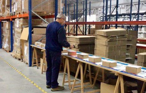 Forward Future Logística Preparación del pedido y embalaje